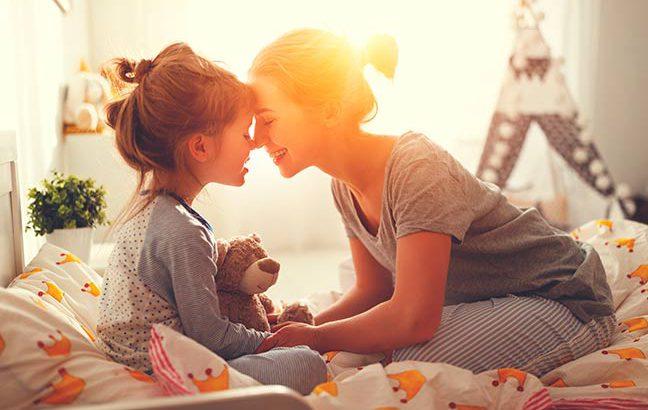 Noite do Pijama com a filha