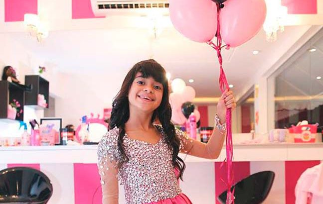 Aniversariante Pink Party